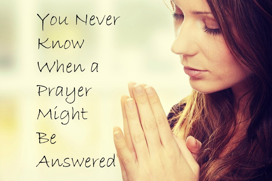 You never know when a prayer will be answered.  Use St Joseph Prayer to hep sell your home
