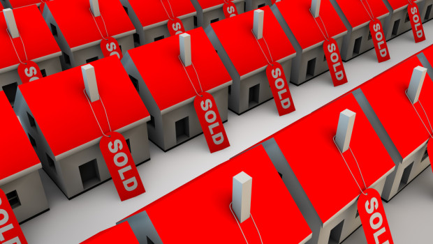 Real Estate Sales Increase