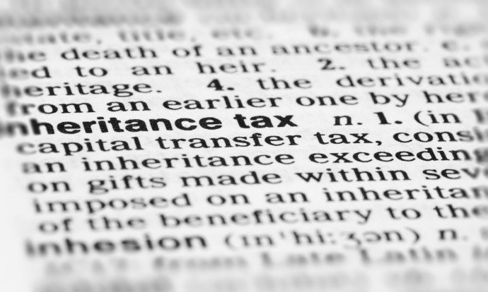 how does inheritance tax work