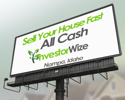 Sell you house fast Nampa, Idaho. Sell my house fast for cash